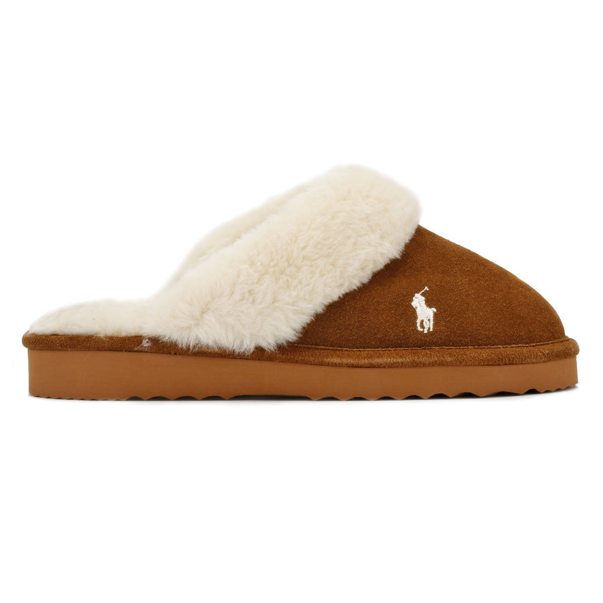 8f9adc03db3a Ralph Lauren Womens Snuff Tan Cream Charlotte Slippers-UK 3  Amazon.co.uk   Shoes   Bags