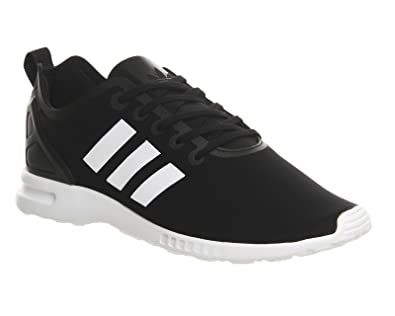 Adidas ZX Flux Smooth, Damen Sneakers, Schwarz Schwarz