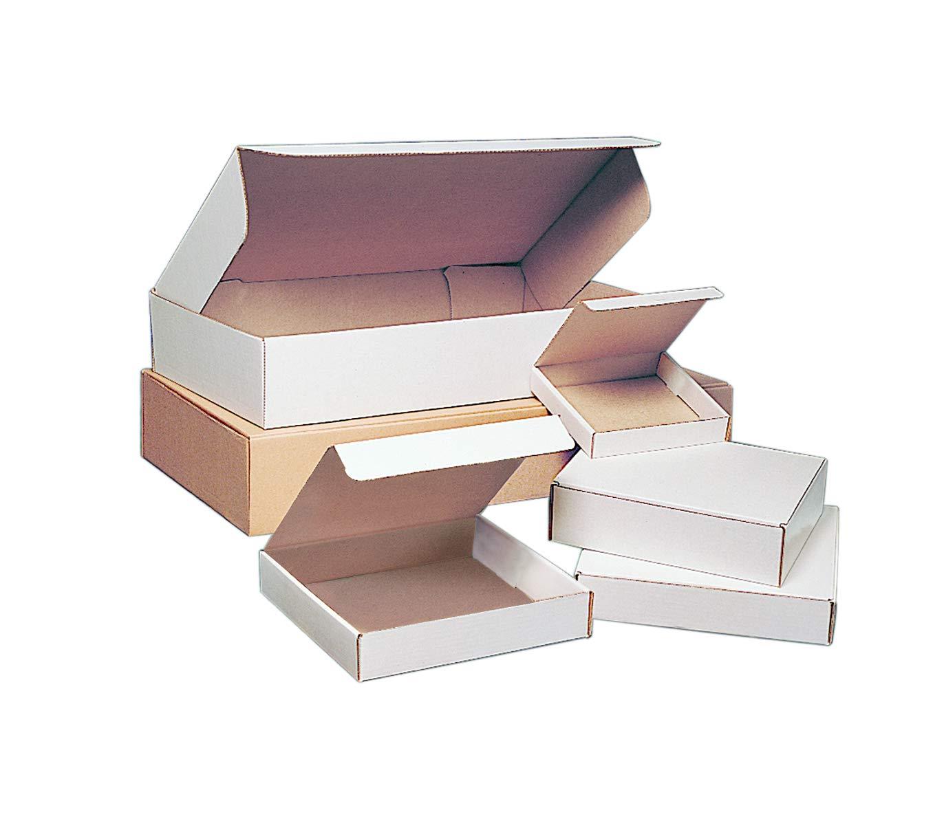 BOX USA BMFL19123K Deluxe Literature Mailers 19 x 12 x 3 19 x 12 x 3 Kraft Pack of 25