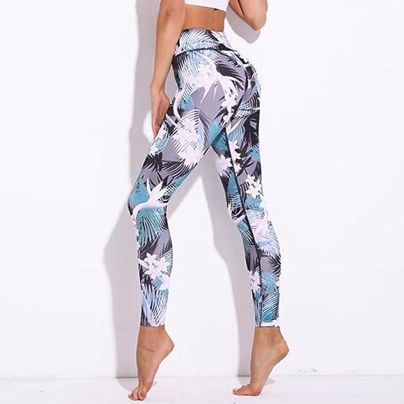 Pantalones Yoga Mujeres, ❤️Xinantime Pantalones Deportivos de Entrenamiento Deportivo Pantalones de Gimnasio Fitness Leggings Jumpsuit para Mujer Ropa ...