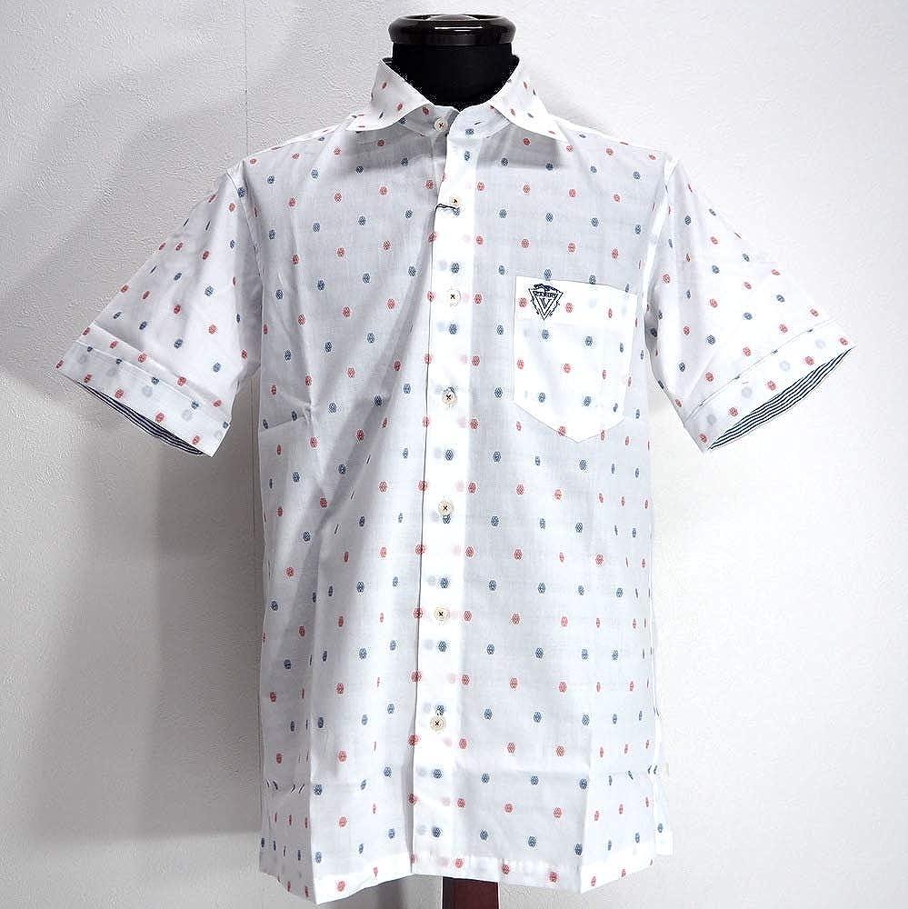 独特の素材 50142 Vittorio 46(M) Carini Carini ゴルフ 日本製 シャツ 半袖 ホワイト 46(M) サイズ 日本製 メンズ カジュアル 男性 春夏 ゴルフ 通販 B07PXWQ26Z, アウトレットツール:e15c83b4 --- pop.beyonddefeat.com