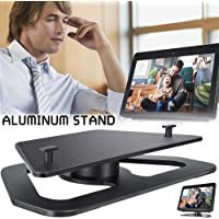 Stand Mount Applicable to Amazon Echo Show 2nd Generation Horizontal 360 Degree Horizontal Rotation Precision Bearing Black
