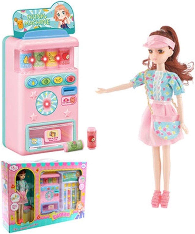 YYQIANG Máquina expendedora, Máquina de bebidas, Juguete, Máquina expendedora de dulces, Simulación de la muchacha de los niños, Casa de juegos, Juguetes para niños Pasatiempos de los niños