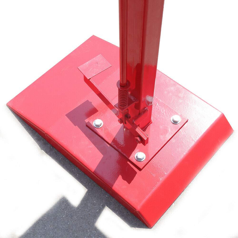 OUKANING D/ébroussailleuse de Pneu /à 180 degr/és pour Fixation de Pneu et Extension