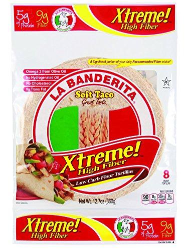 La Banderita Xtreme Flour Tortillas 8