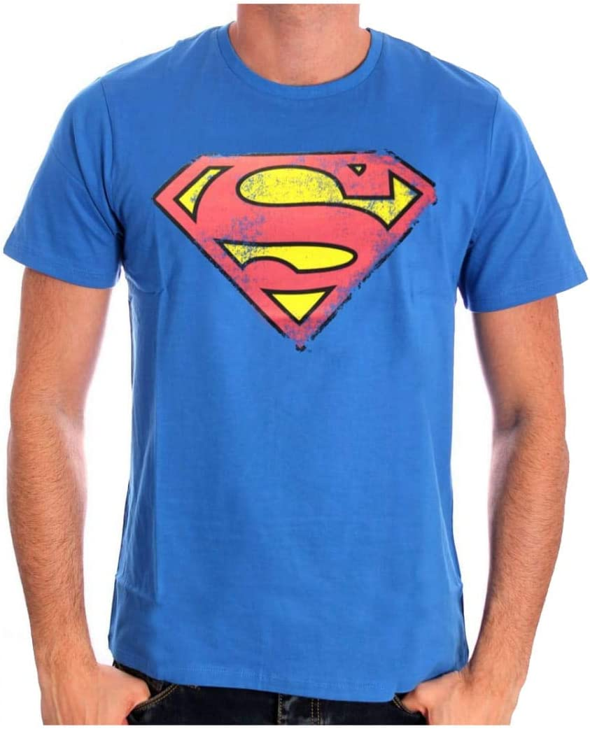 Horror-Shop Superman Retro Logo Camiseta S: Amazon.es: Juguetes y juegos
