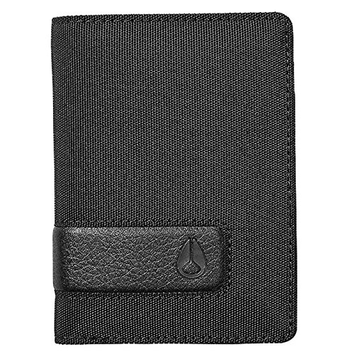 Nixon Showup Card Wallet - All Black Nylon