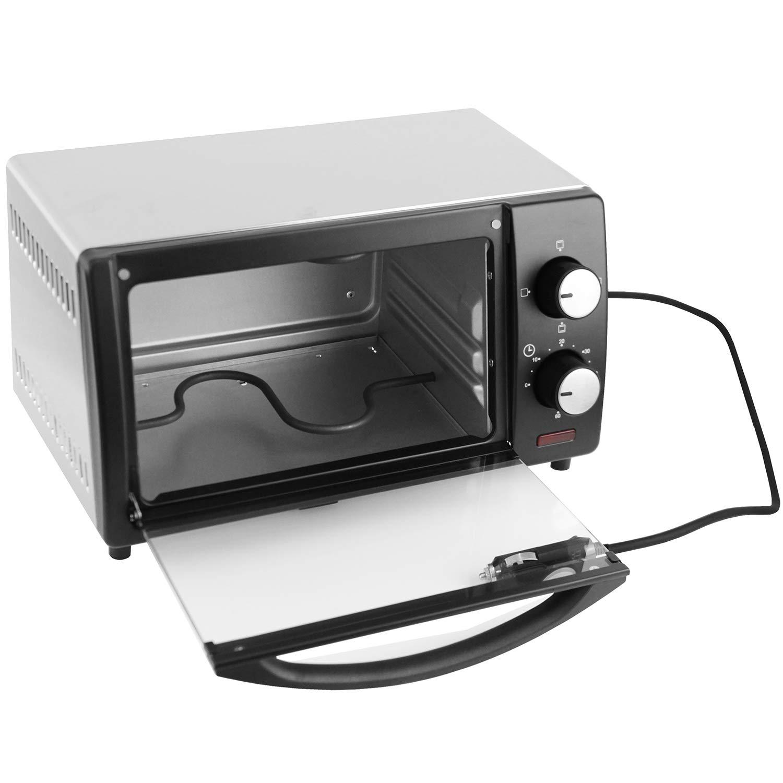 Unbekannt Horno eléctrico Mini Horno Parrilla 24V 300W, 9 ...