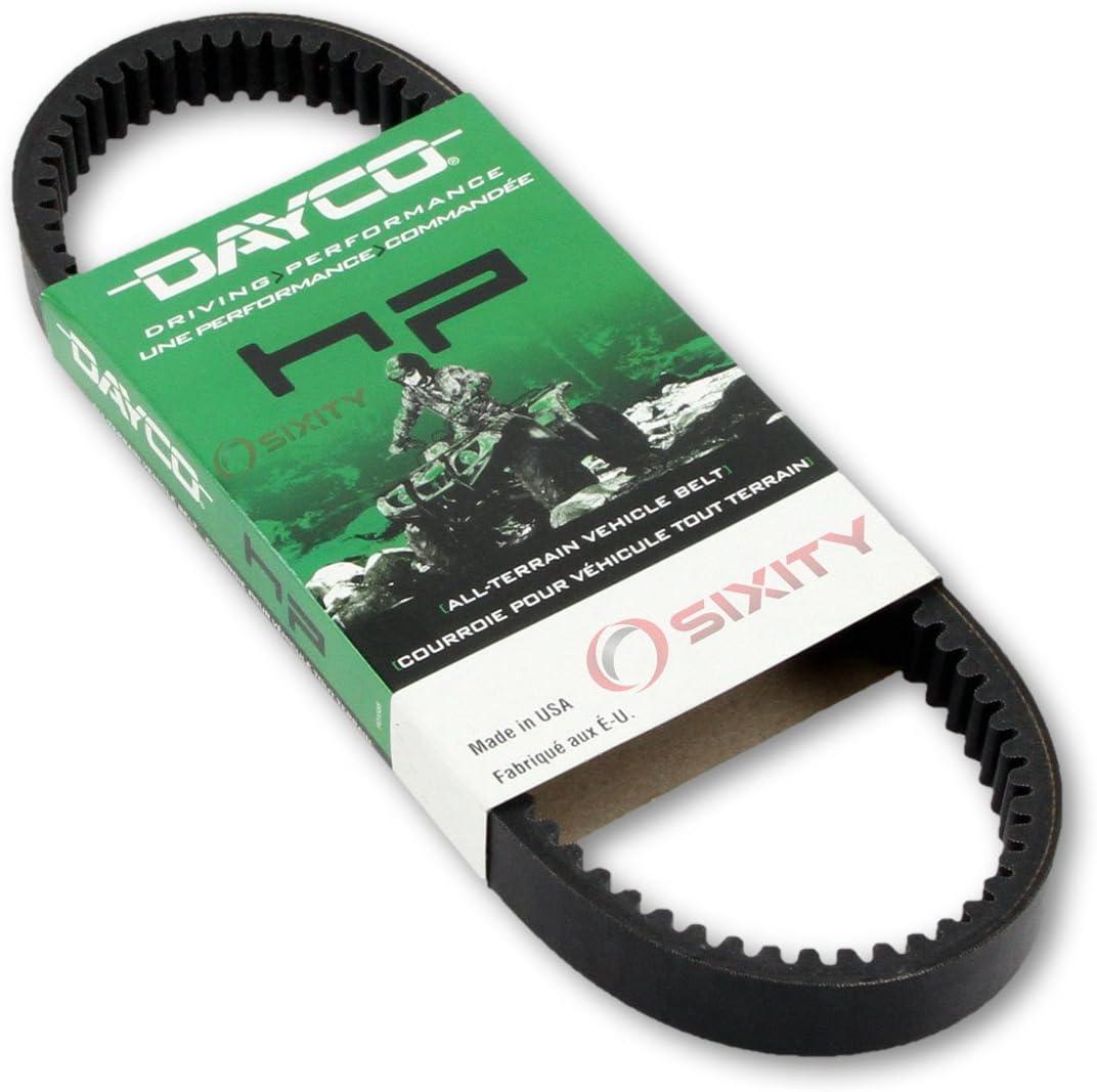 2005-2007 for Polaris Ranger 2x4 500 Drive Belt Dayco HP ATV OEM Upgrade Replacement Transmission Belts