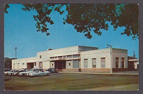 - Southern Pacific Railroad Depot Palo Alto CA postcard 1950s