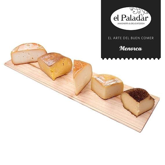 Quesos elaborados con leche de Menorca Selección El Paladar.