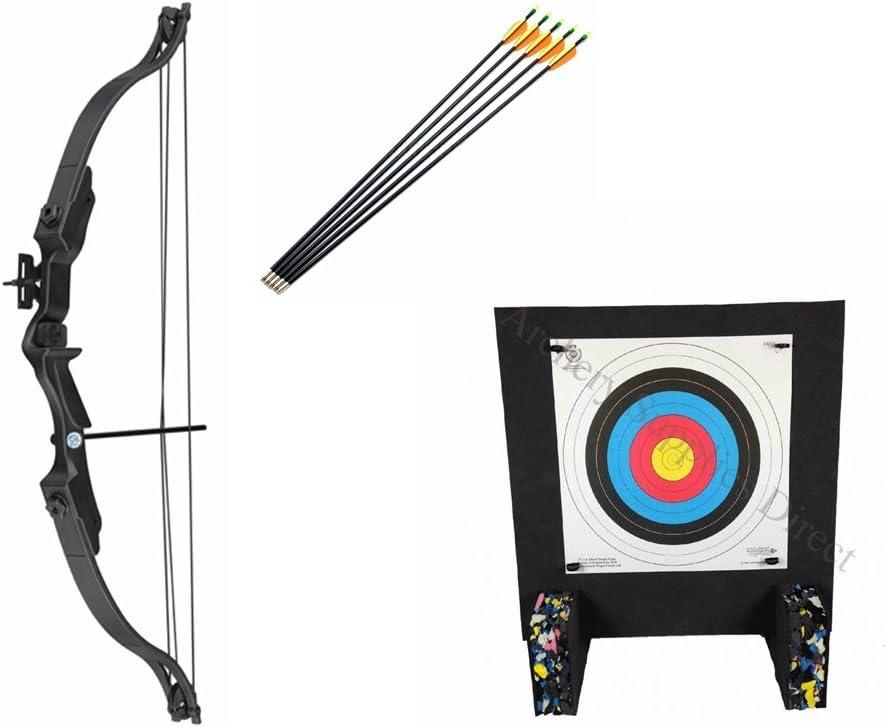 Archery Set for Kids Wildcat Junior Recurve Bow and Arrow Fun Garden Kids Archery Set