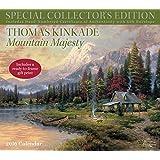 Thomas Kinkade Special Collector's Edition 2016 Deluxe Wall Calendar: Mountain Majesty
