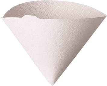 Hario FILTRI di carta per V60 VASCHETTA CAFFETTIERA Taglia 02-100pcs Bianco