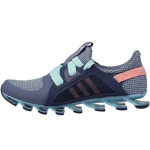 9c3f854ff12f Adidas - Springblade Nanaya - AF5284 - Color  Grey-Light Blue-Pink ...