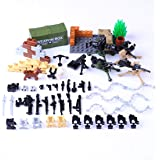 Guilty Gadgets 100pcs/pack children soldier figures set