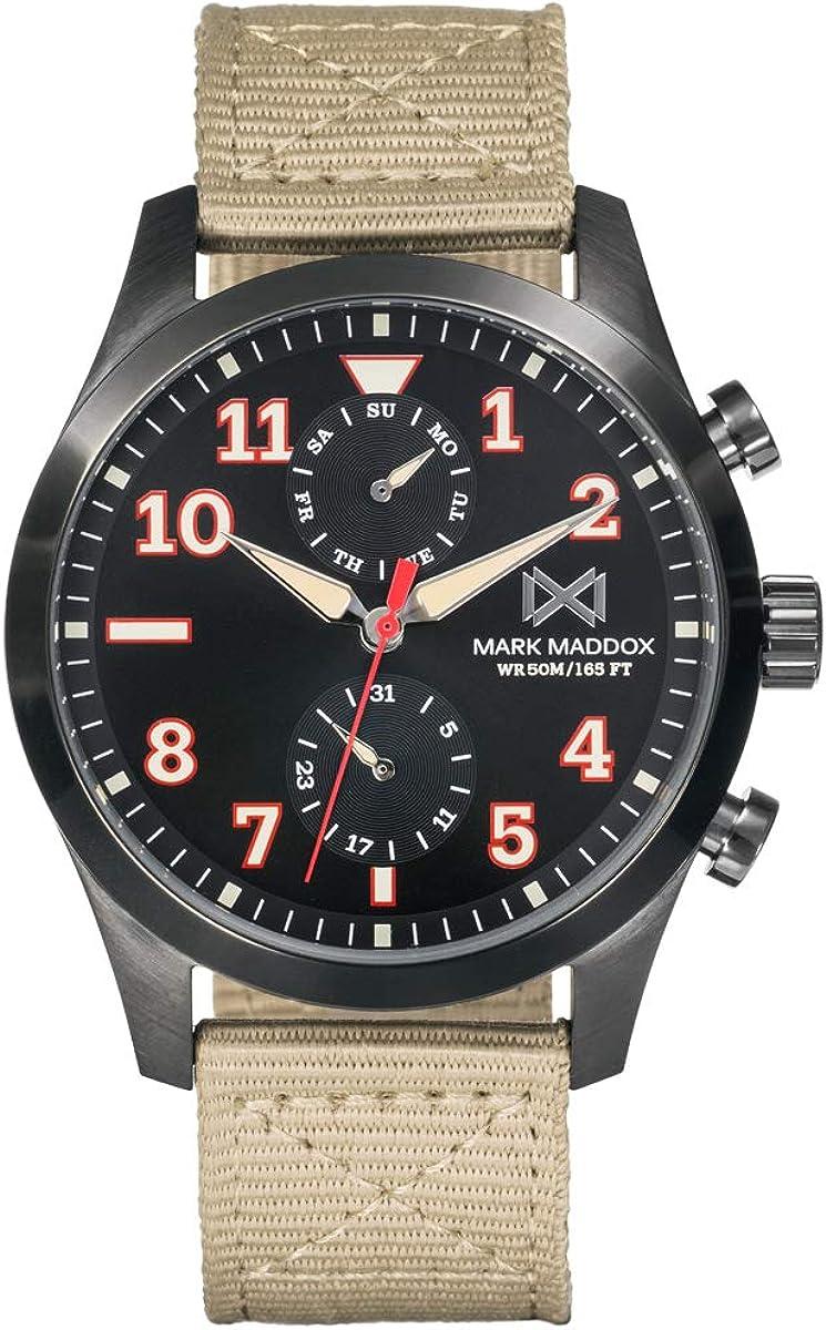 Reloj Mark Maddox Hombre HC7132-54 Multifunción Colección Mission