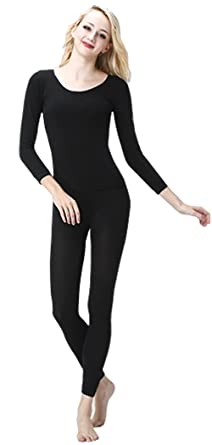 d14b3611a084 New Style Fashion Elegant Lady Sexy Body Beauty Tight Warm Suit - Black (M)