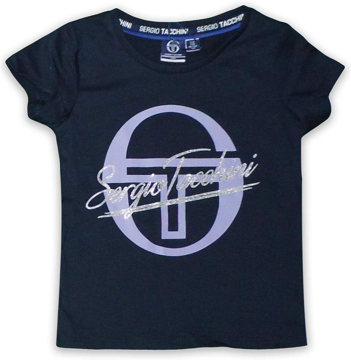 Sergio Tacchini M/ädchen Sport-T-Shirt Baumwolle kurz/ärmlig
