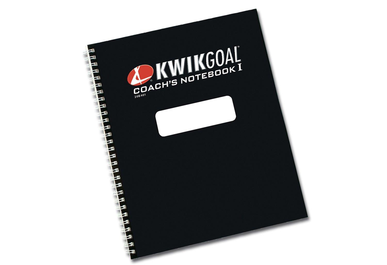 Kwik Goal 20B401 Coaches' Notebook