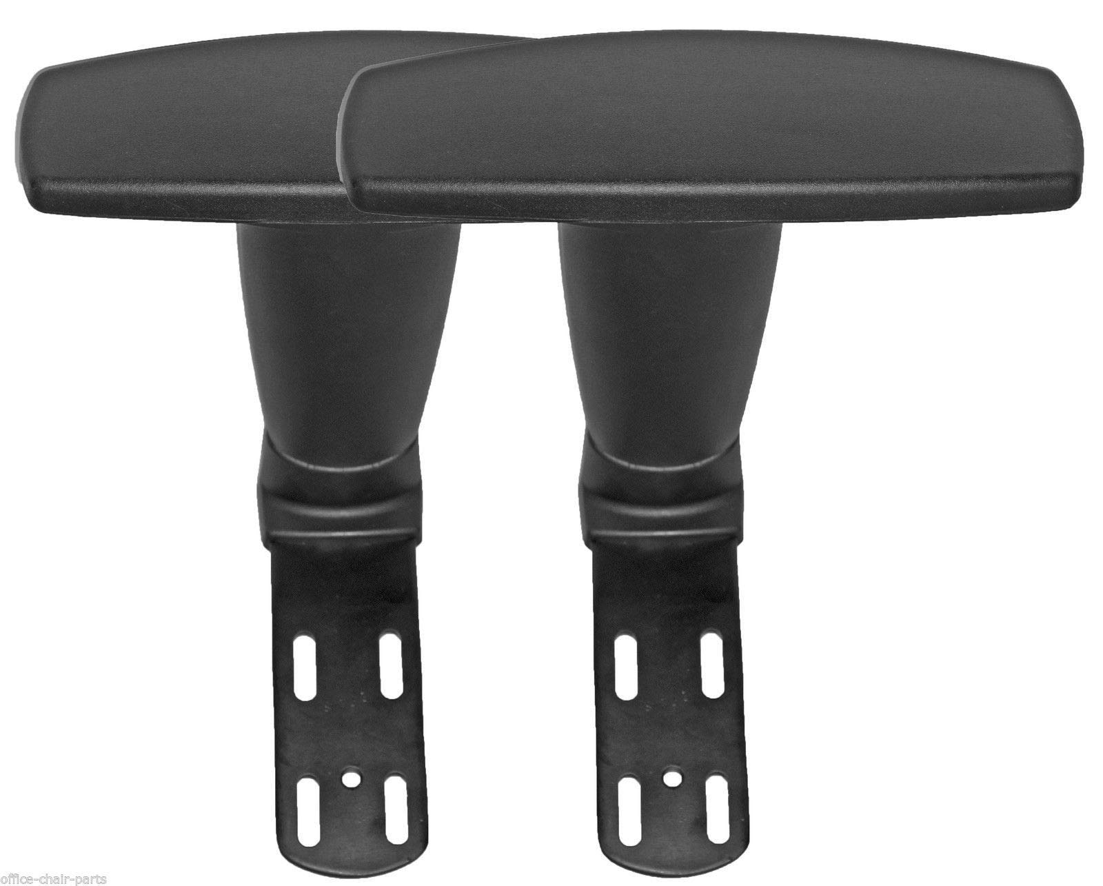 Adjustable Arms Armrest Upright Bracket with Pads 1 Pair -AS4F