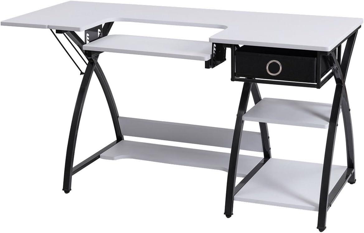 Costura Craft – Mesa plegable para ordenador ajustable Plataforma ...
