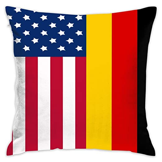 DIY Pillow Covers Funda de cojín Cuadrada de algodón con ...