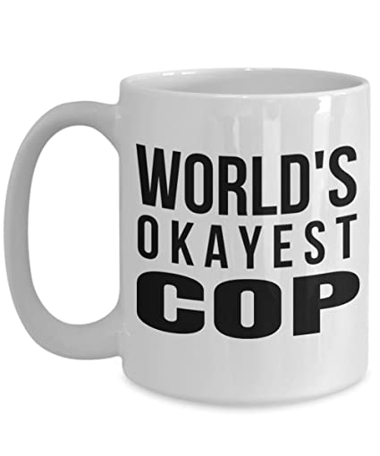 Superb Police Academy Graduation Gifts   Police Birthday Gift   Los Angeles Police  Mug   15 Oz