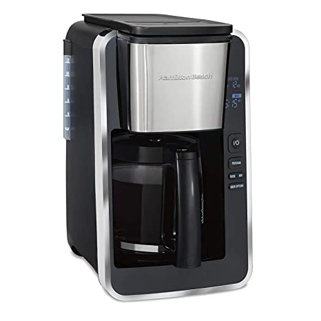Amazon.com: Hamilton Beach - Cafetera programable (renovada ...