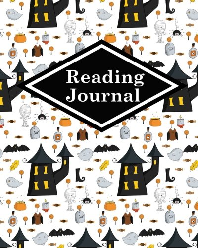 Reading Journal: Book Reading List, Reading Journals For Book Lovers, Portable Book Reading Diary, Reading Log Summary, Cute Halloween Cover (Volume 22)