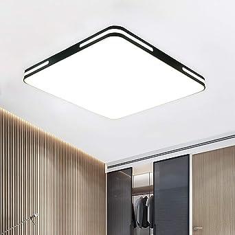 Moderna LED Luz de Techo 18W,Plafón Lámpara Techo Blanco Frío ...