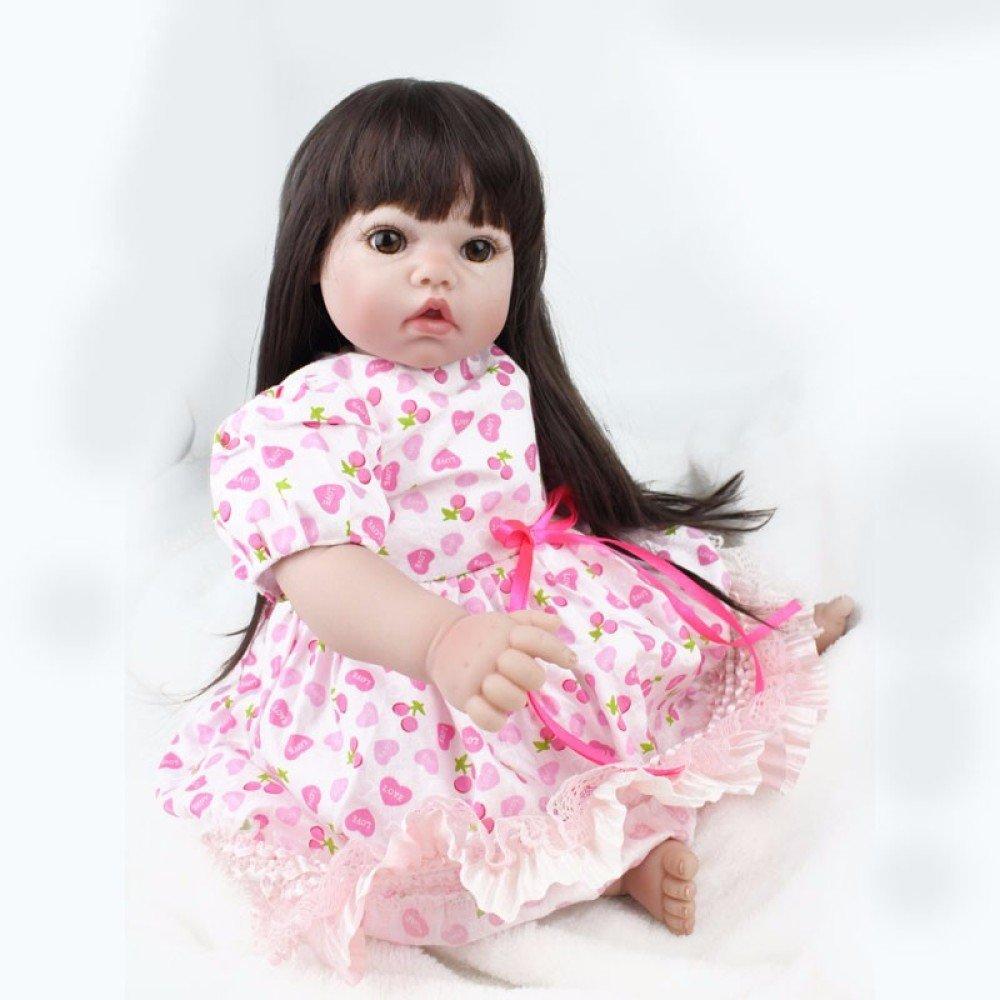 BADOLL Simulación Baby Rebirth Doll Girl Toy Realista Baby Muñecas Realistas