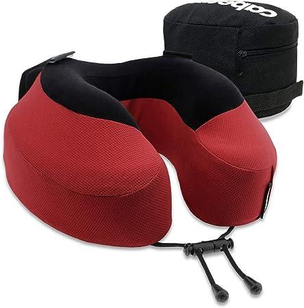 Scientifically Best Seated Sleep Plush Memory Foam Support Ergonomic Design Prevents Neck Strain Cabeau Evolution S3 Travel Pillow