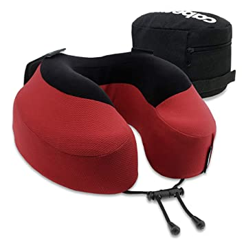 Cabeau Evolution Pillow.Cabeau Evolution S3 Travel Pillow Scientifically Best Seated Sleep Plush Memory Foam Support Ergonomic Design Prevents Neck Strain