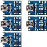 XCSOURCE 5X Mini USB 5V Micro USB1A Lithium Battery Charging Board Module Linear Charger Board TP4056 TE106
