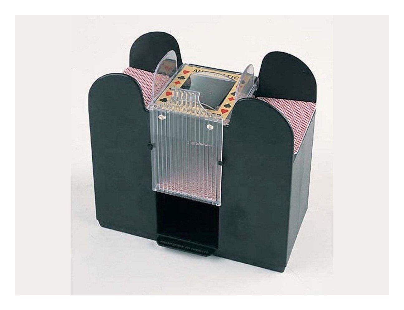 Casino - Mezclador de cartas automático 1 - 6 cubierta ...