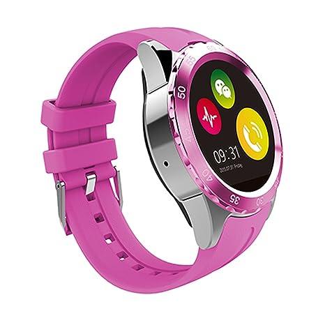 Dokpav® KING-WEAR KW08 Reloj inteligente Smartwatch, Reloj impermeable, transpirable, Podómetro