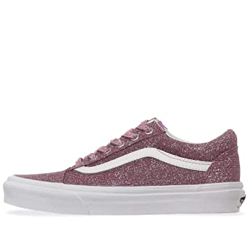 Vans Unisex Old Skool Textile Trainers (Pink True Trainers 6 M US Women    4.5 5926944c0