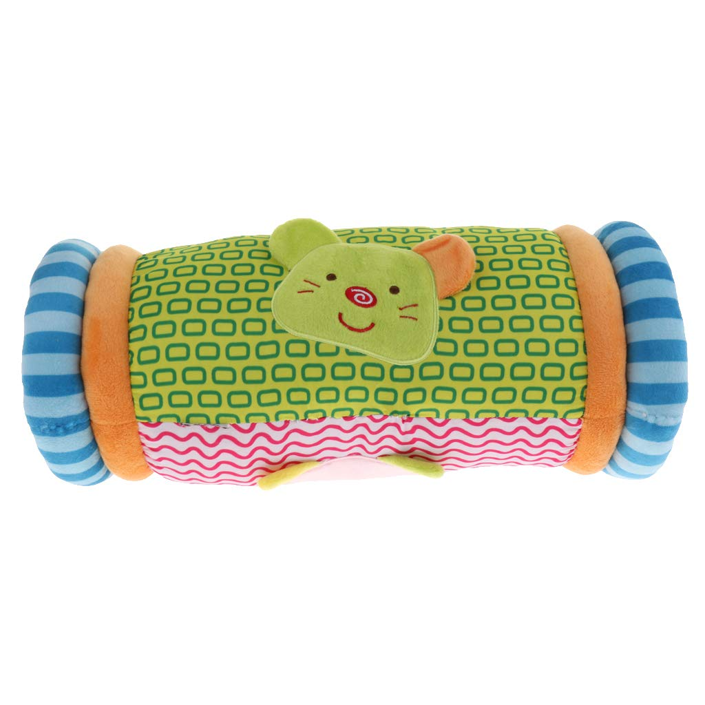 IPOTCH Kids Soft Plush Cusion Toddlers Tummy Time Nursery Early Learning Centre - Stripe, as described