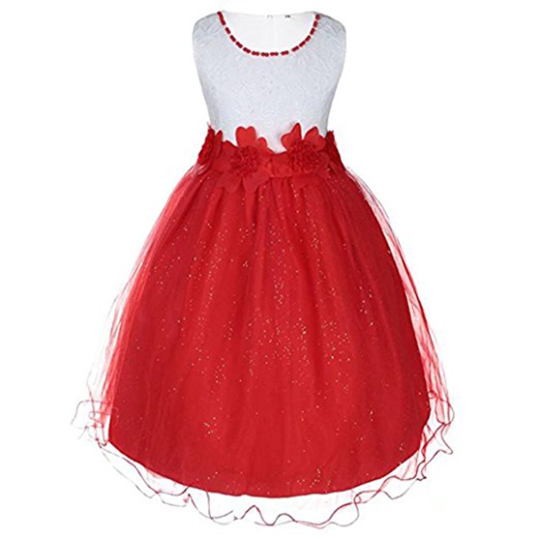 ADHS Kids Baby Girl Special Occasion Wedding Gowns Flower Dresses