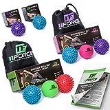 11FORCE PREMIUM Massage Ball Set or Single, Lacrosse & Spiky Balls, Physical ...