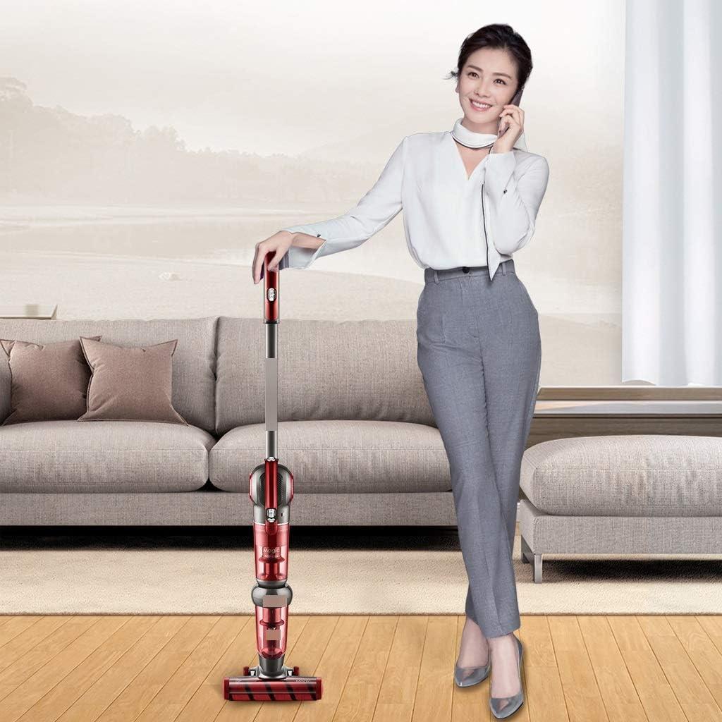 YaNanHome Aspirateur sans Fil aspirateur de Poche aspirateur Ultra-Silencieux pour Voiture de Salon et Autres lieux (Color : Red) Red