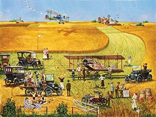 Barnstormers - 500 Piece Jigsaw Puzzle By Sunsout Inc.