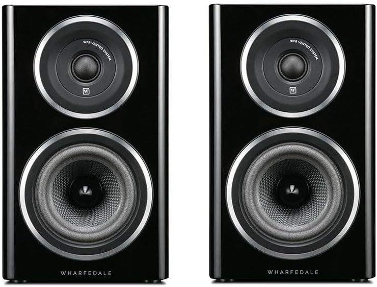 Wharfedale d11.1b par de Altavoces pasivos de estantería, Negro