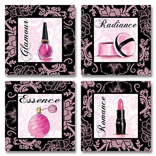 Fashion Pink Romance Makeup Art Print Poster by Gregory Gorham