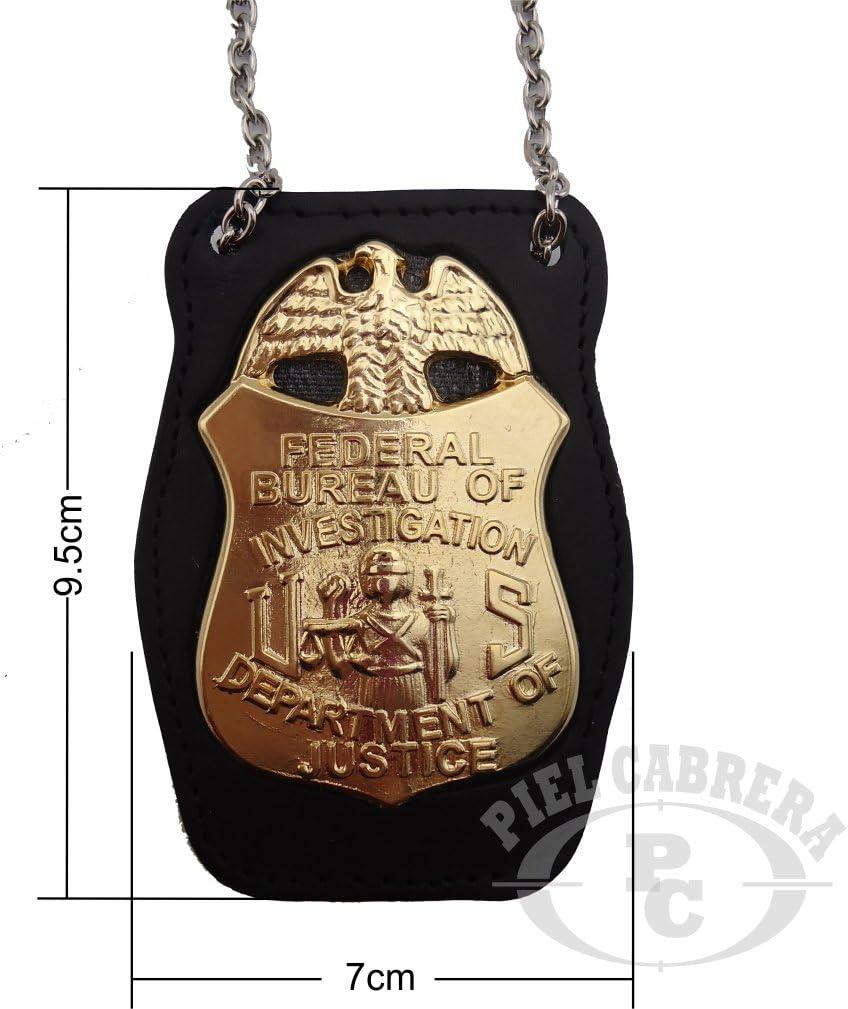 Included Badge Holder Badge FBI