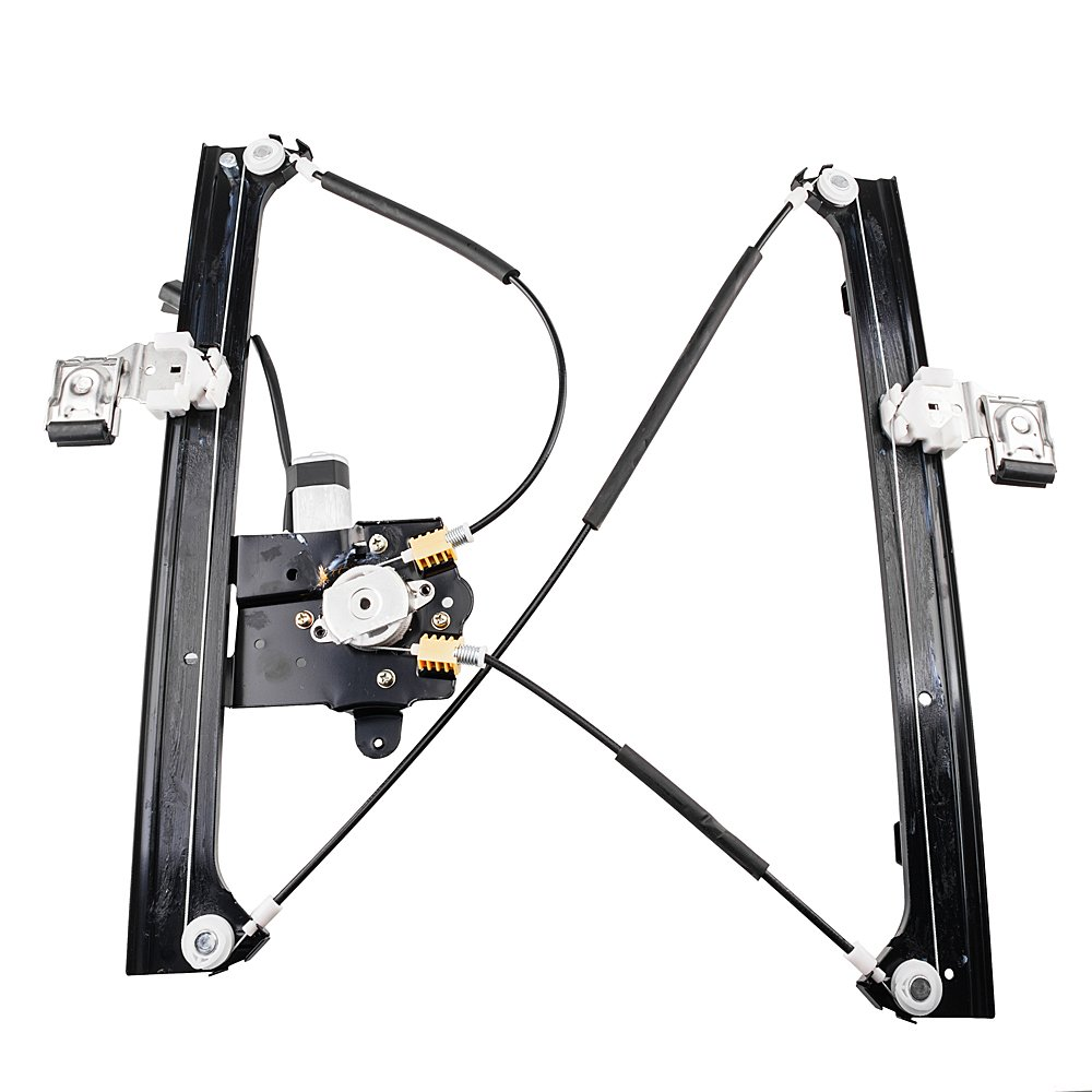 Front Right Passenger Power Window Lift Regulator with Motor Assembly for 02-09 Chevy Trailblazer//GMC Envoy /& 04-07 Buick Rainier /& 03-06 Isuzu Ascender /& 02-04 Oldsmobile Bravada /& 07-09 Saab 9-7x