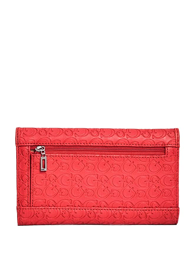GUESS Factory Womens Desmond Slim Wallet Clutch at Amazon Womens Clothing store: