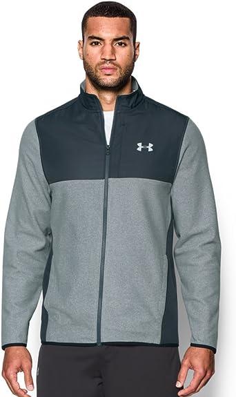 Abandonar vestir impuesto  Amazon.com: Under Armour ColdGear Buzo con capucha, de polar, con tecnología  infrarroja, resistente, para hombre., Gris, XS: Clothing