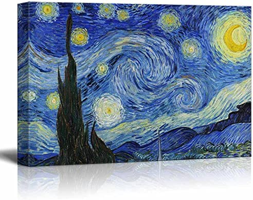Starry Night by Vincent Van Gogh Wall Decor